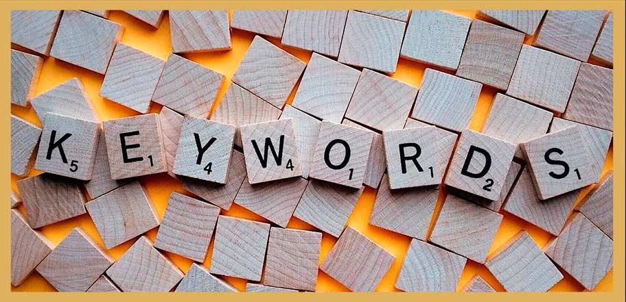 seleccion de keywords