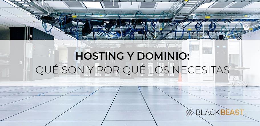 hosting y dominio portada