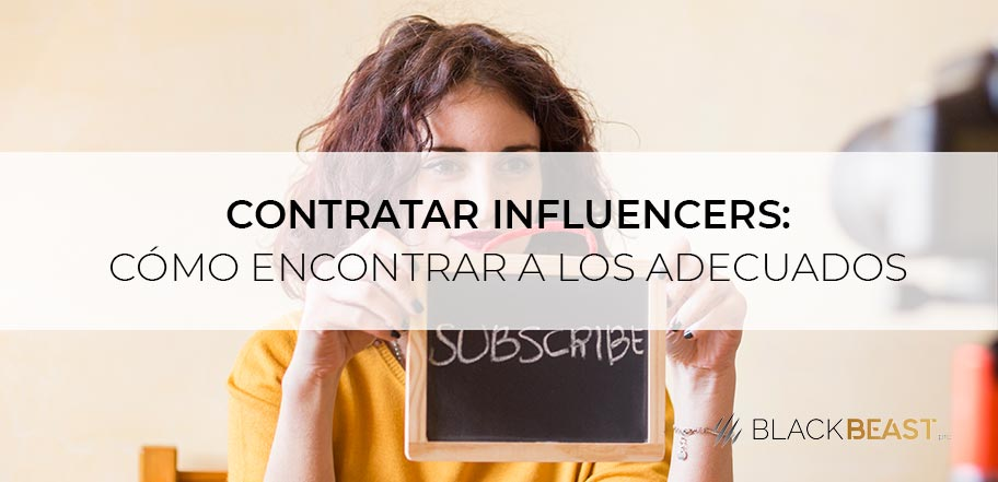 contratar influencers